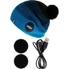 earebel Bluetooth Kopfhörer Beanie Sport Caball Beanie schwarz-türkis