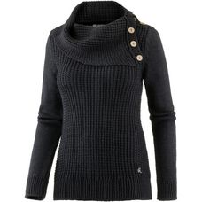 Mogul Strickpullover Damen black