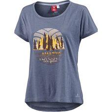 OCK Printlangarmshirt Damen dunkelblau
