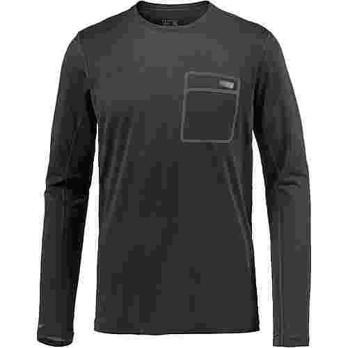 Mountain Hardwear Metonic Funktionsshirt Herren stealth grey