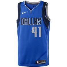 Nike DIRK NOWITZKI DALLAS MAVERICKS Basketball Trikot Herren GAME ROYAL