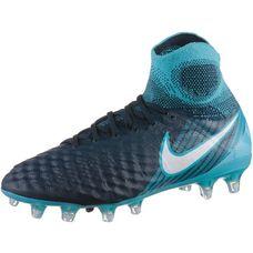 Nike JR MAGISTA OBRA II FG Fußballschuhe Kinder obsidian/white-gamma blue-glacier blue