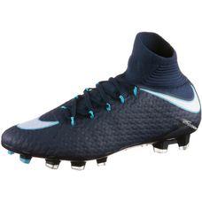 Nike HYPERVENOM PHATAL III DF FG Fußballschuhe Herren obsidian/white-gamma blue-glacier blue