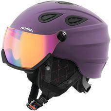 ALPINA Grap Visor HM Skihelm deep-violet matt