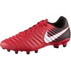 Nike TIEMPO LIGERA IV FG Fußballschuhe Herren university red/white-black