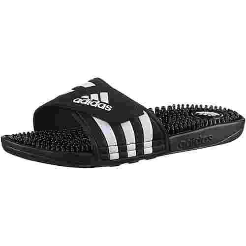 adidas Adissage Pantoletten schwarz