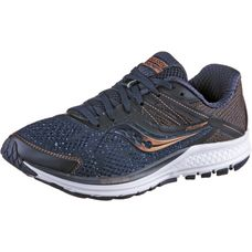Saucony Ride 10 Laufschuhe Damen navy-denim-copper