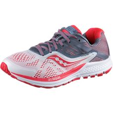 Saucony Ride 10 Laufschuhe Damen white fog-vizired