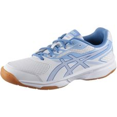 ASICS UPCOURT 2 Volleyballschuhe Damen white-regatta blue-airly blue