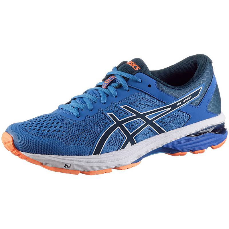 ASICS GT-1000 6 Laufschuhe Herren victoria blue-dark blue-shocking orange d3b59abe84