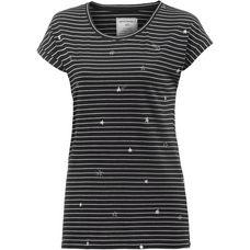 ARMEDANGELS T-Shirt Damen black-off white