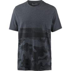 Under Armour Camo Border Funktionsshirt Herren black