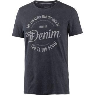 TOM TAILOR T-Shirt Herren night sky blue