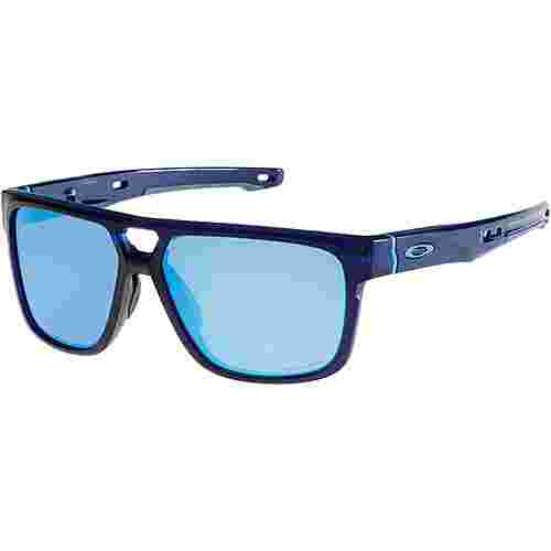 Oakley Crossrange Patch Sonnenbrille matte translucent blue/prizm sapphire