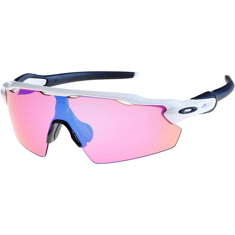 Oakley Radar EV Pitch Prizm Trail Sportbrille, polished white/prizm trail,Größen: Einheitsgröße