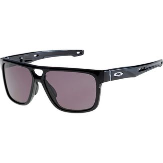 Oakley Crossrange Patch Sonnenbrille polished black/warm grey