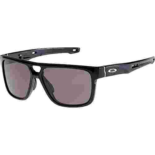 Oakley Crossrange Patch Sonnenbrille polished black/warm grey
