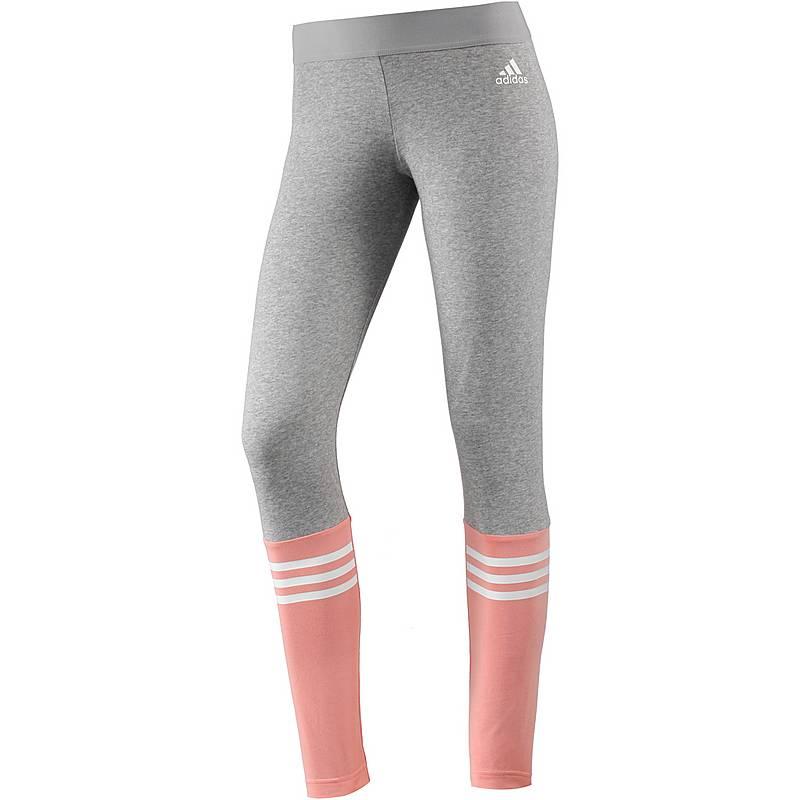 adidas Leggings Damen medium grey heather im Online Shop von SportScheck  kaufen 10029bf9b1