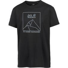Jack Wolfskin Peak T T-Shirt Herren black