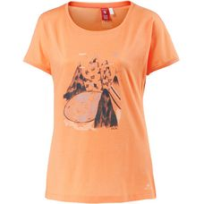 OCK Printlangarmshirt Damen orange