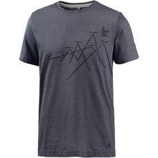 OCK Printshirt Herren graublau