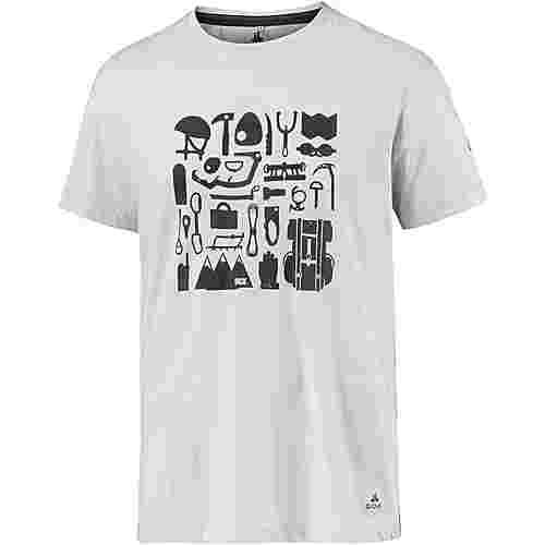 OCK Printshirt Herren hellgrau
