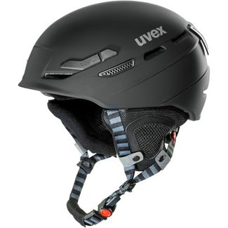 Uvex p.8000 tour Skihelm black mat
