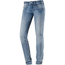 Herrlicher Gila Slim Skinny Fit Jeans Damen cloudy