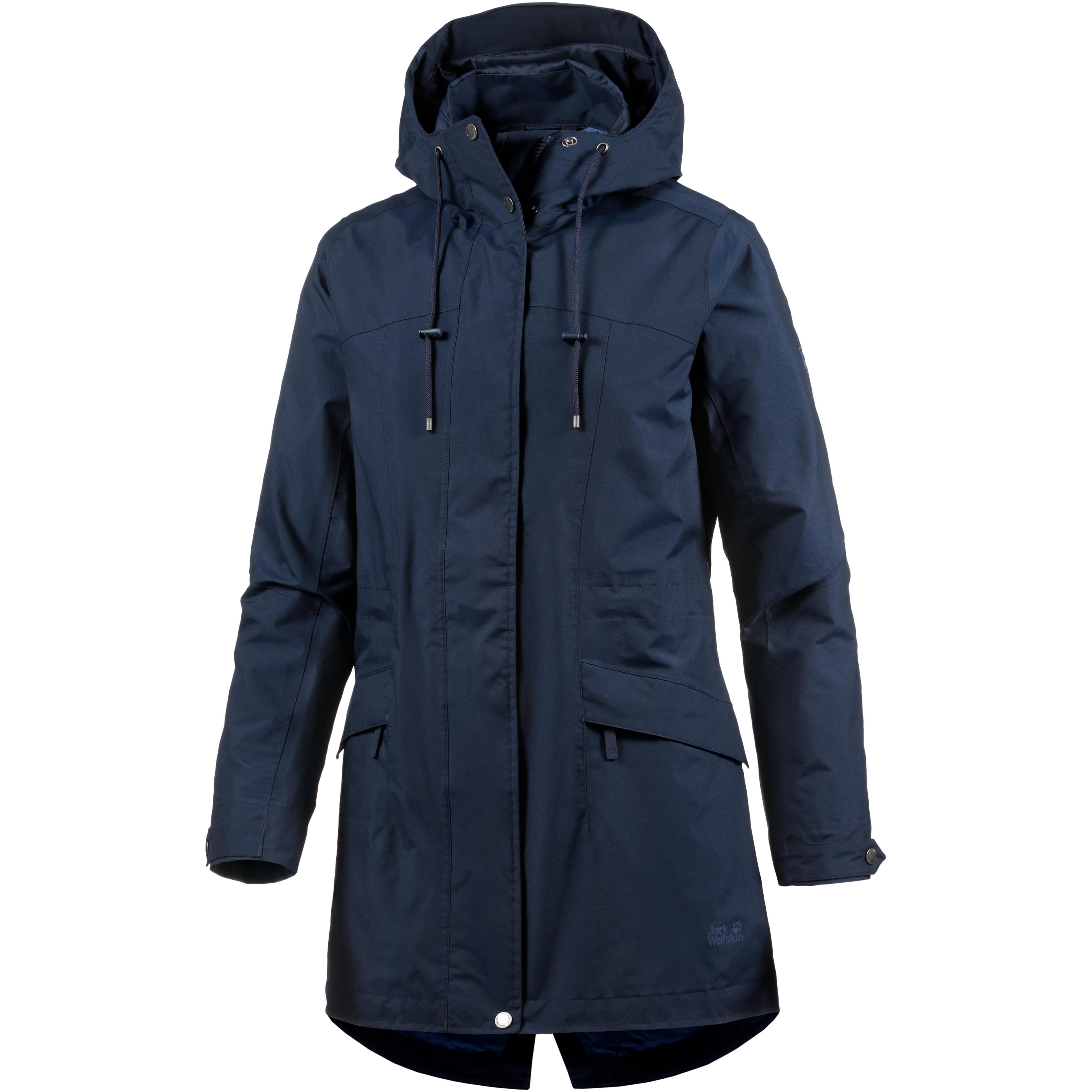 available cheap price sleek Jack Wolfskin Cameia Parka Damen midnight blue im Online Shop von  SportScheck kaufen