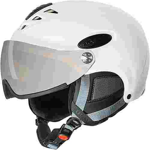 Uvex hlmt 300 visor Skihelm white mat