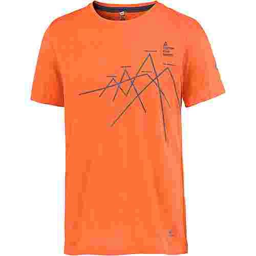 OCK Printshirt Herren orange