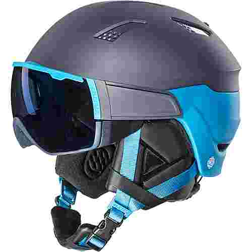 Salomon Driver Skihelm Herren ombre blue/hawaiian surf