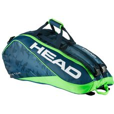 HEAD Tour Team 9R Supercombi Tennistasche navy-green