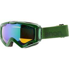 Anon Realm Skibrille grün/blau