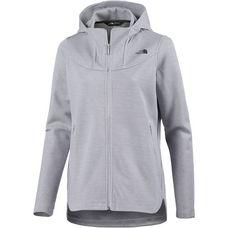The North Face Slacker High Collar Sweatjacke Damen tnf light grey heather