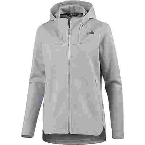 The North Face Slacker High Collar Sweatjacke Damen tnf light grey heather
