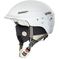 Uvex gamma WL Skihelm Damen white-prosecco mat