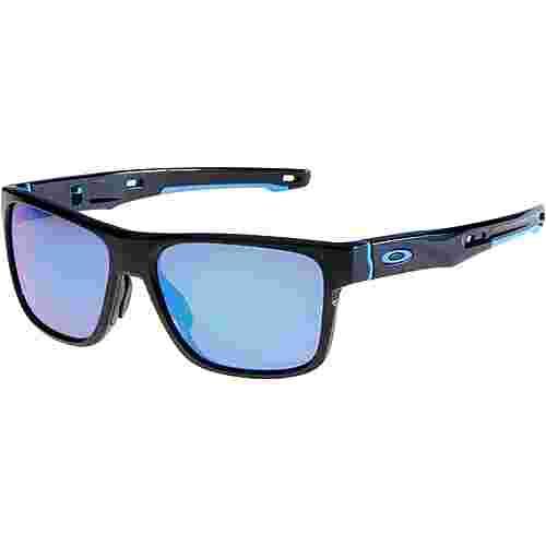 Oakley Corssrange Sonnenbrille polished black/prizm sapphire