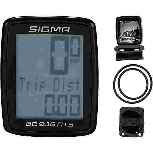 SIGMA BC 9.16 ATS Fahrradcomputer black
