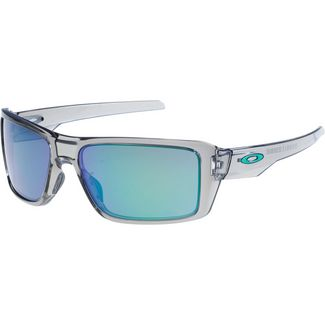 Oakley Double Edge Sonnenbrille grey ink/jade iridium