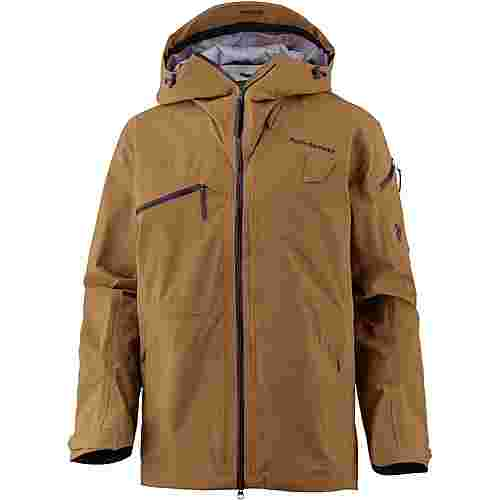 Peak Performance ALP J Skijacke Herren Honey Brown