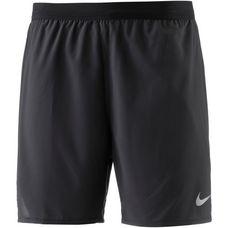 Nike Flex Distance Laufshorts Herren black-black-reflective-silv
