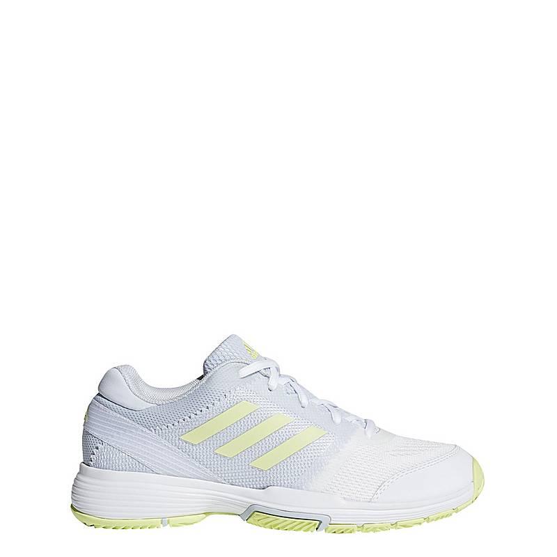 new styles a60ea b198c adidasBarricade Club TennisschuheDamen White Aero Blue Semi Frozen  Yellow Ftwr White