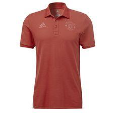 adidas Manchester United Poloshirt Herren Real Red
