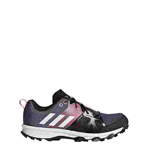 adidas Kanadia 8.1 Mountain Running Schuhe Kinder Raw Steel/Off White/Real Pink