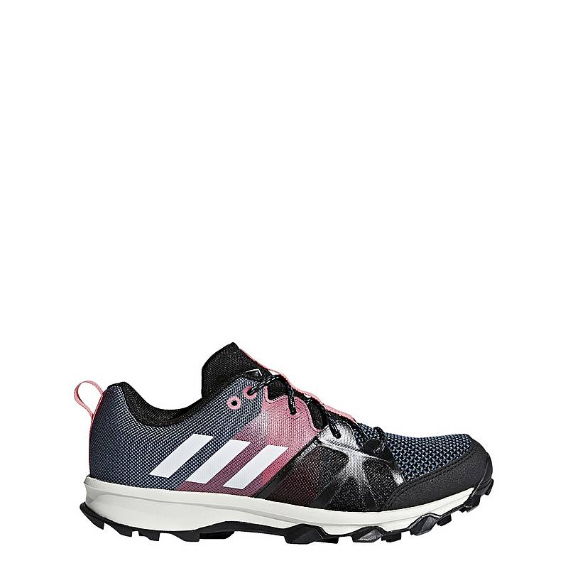 adidasKanadia 8.1  Mountain Running SchuheKinder  Raw Steel/Off White/Real Pink