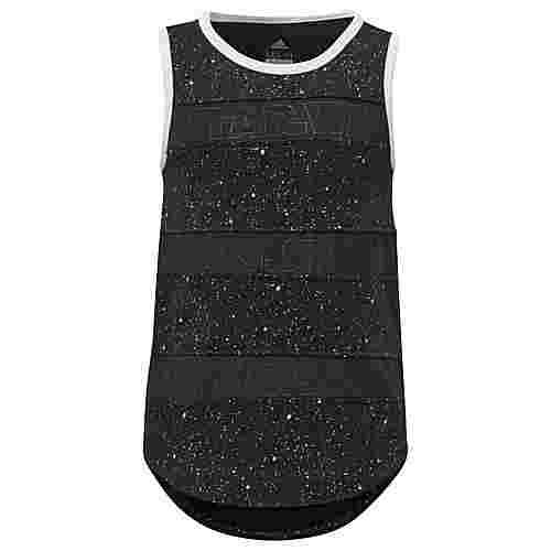 adidas Star Wars Tanktop T-Shirt Kinder Black/White
