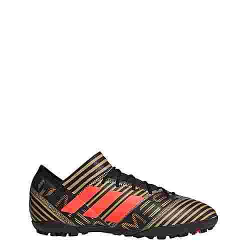 adidas Nemeziz Tango 17.3 TF Fußballschuhe Herren Core Black/Solar Red/Tactile Gold Met.