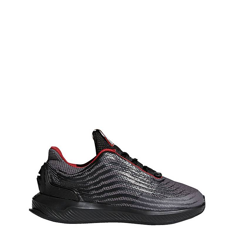 adidasStar Wars RapidaRun  LaufschuheKinder  Core Black/Scarlet/Grey Five