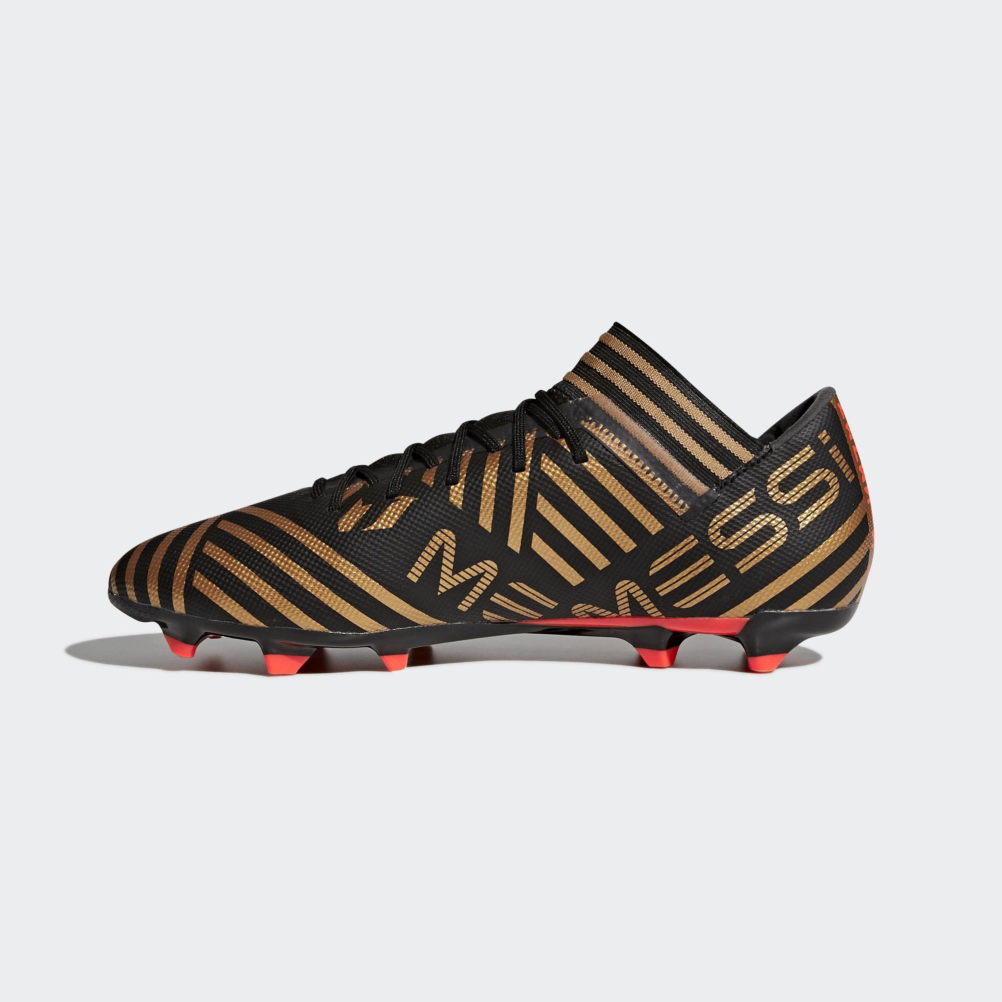 Adidas Nemeziz Messi 17.3 FG Fußballschuhe Fußballschuhe Fußballschuhe Herren Core schwarz Solar rot Tactile Gold Met. im Online Shop von SportScheck kaufen Gute Qualität beliebte Schuhe 4b27ad